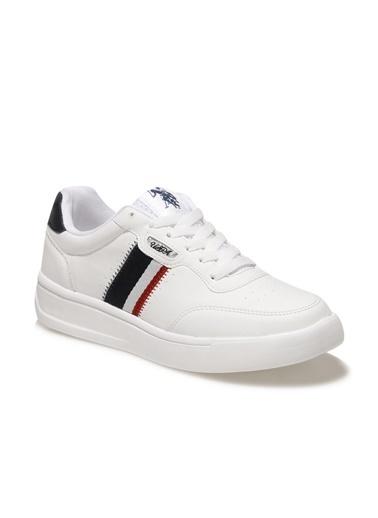 U.S. Polo Assn. Elita Kadın Sneaker Beyaz